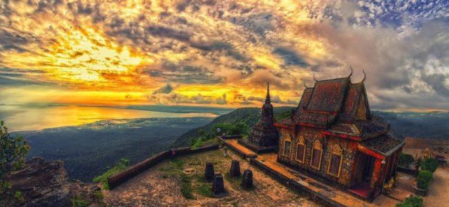 Камбоджа .Кухня и достопримечательности