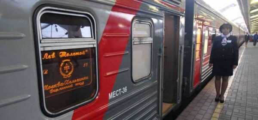 Поезд Москва-Хельсинки