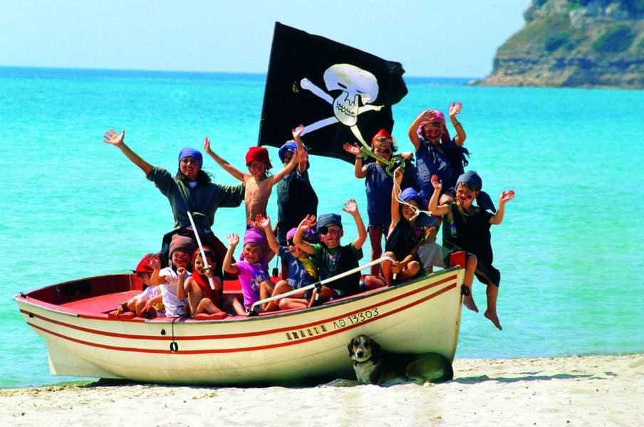Развлечения для детей на пляже