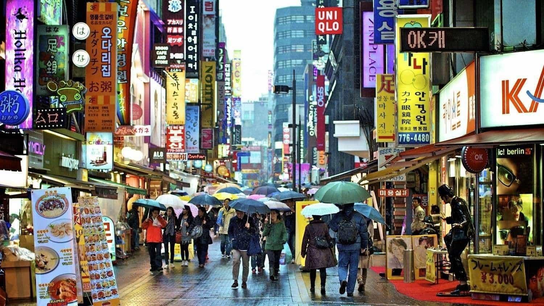 Шопинг в Корее