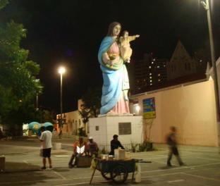 Очень красивый памятник в Бразилии