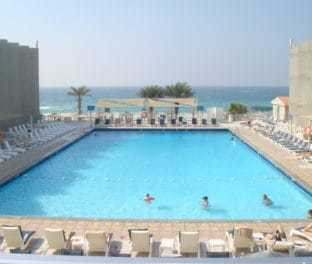 Вид из номера 238 Beach Hotel Sharjah