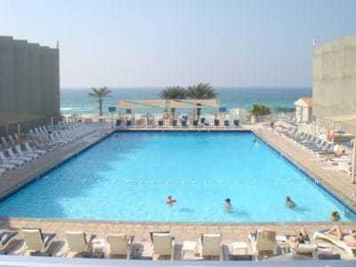 Вид из номера 238 Beach Hotel Sharjah