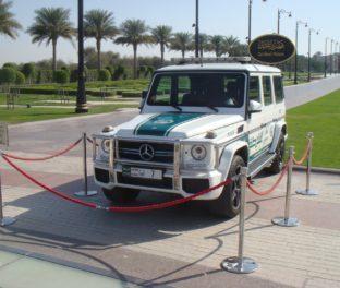Дорогой автомобиль в ОАЭ
