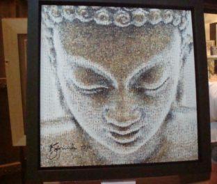 Красивая картина Будды