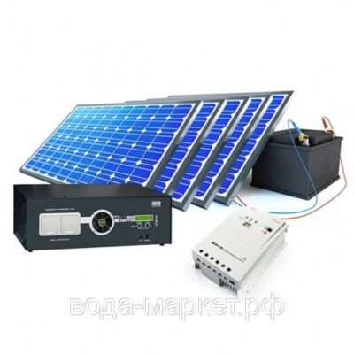 Солнечные электростанции для коттеджей