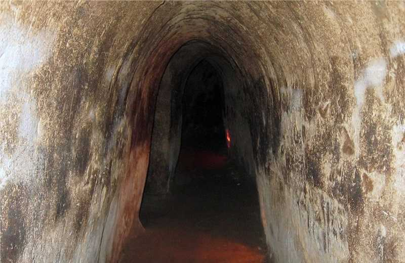 Вьетнам — тоннели Кути